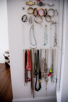 Using hinged mirror from Ikea | New bedroom | Pinterest | Jewelry ...
