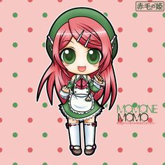 UTAUloid - Momone Momo by Akage-no-Hime on DeviantArt