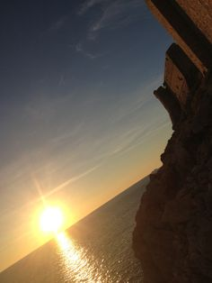 Sunset from the outside of Dubrovnik fortress