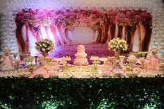 Jardim rosa das ursas ❤️❤️
