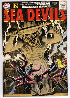 Russ Heath Sea Devils | Russ Heath .com