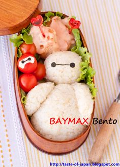 Big Hero 6 BAYMAX Bento Box / Chicken breast with sweet chili mayo sauce recipe