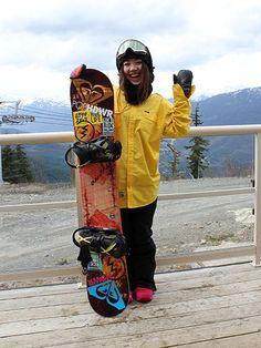 2015 PRO RIDERSステッカー貼り方/星野文香 | スノーボード、スノボーの最新情報!DMKsnowboard