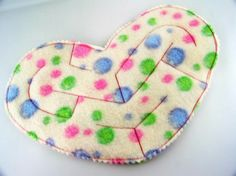Heart Marble Maze in Polka Dot Colors - self contained maze