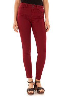 """$24.99 WallFlower Womens Juniors Irresistible Denim Jegging Jeans (28-30-32"""" Inseam) 52%Cotton-26%Rayon-21%Polyester-1%Spandex  Imported  Zipper closure  Machine Wash  Made with soft and stretch fabric, 5 functional basic pockets  High rise fit that slims and sculpts  Short=28"""" inseam, Regular=30"""" inseam Long=32"""" inseam. 9.5"""" Rise  Tight fit through leg, super skinny leg opening... #womanfashion,#womanfashions,#woman,#fashionhub, #fashionlover, #fashionlife, #fashion,#oufitideas,#outfit Fashion Hub, Fashion Brands, Jeans Fit, Black Jeans, Wallflower Jeans, Cheap Leggings, Juniors Jeans, Jeans Brands, Skinny Legs"""