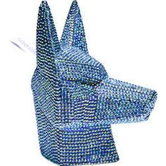 Money Box Fox Crystal Blue by KARE Design #blue #blau #bleu #fox #egypt #crystal #KARE #KAREDesign