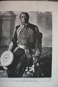 My Great-grandfather King Lewanika of the Lozi.