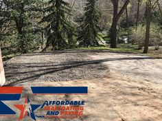 Stone Driveway Turnaround Extension #roc #stonedriveway #driveway #asphalt