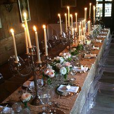 An elegant dinner