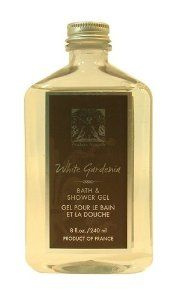 Pre De Provence Bath and Shower Gel, White Gardenia, 8-Fluid Ounce by Pre de Provence. $14.25. Free of all colorants and parabens. Our bath and shower gel is thick and rich, creating tons of bubbles, to make your skin clean, soft and fragrant. White gardenia is a beautiful shrub with fragrant white flowers that create a silky floral. Made in France. Lightly scented with White Gardenia this shower gel cleanses gently, lathers richly, and refreshed without drying skin.