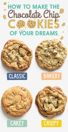 Not sure which one you'd like best? Take this chocolate chip cookie quiz to help you pick your favorite.