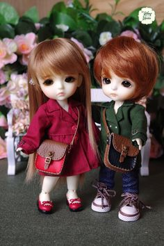 Lati Yellow/ Puki Fee Handmade Mini Sarry Leather by YlangGarden Cute Baby Dolls, Cute Baby Girl, Cute Babies, Cute Baby Couple, Cute Girl Hd Wallpaper, Cute Couple Wallpaper, Beautiful Barbie Dolls, Pretty Dolls, Cute Kids Pics