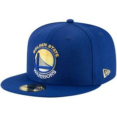 Golden State Warriors New Era Logo Grade 59FIFTY Structured Hat - Royal c935859a1acce