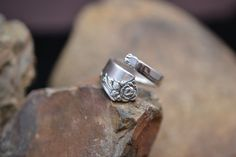Hey, I found this really awesome Etsy listing at https://www.etsy.com/listing/195129407/heirloom-sterling-by-oneida-spoon-ring