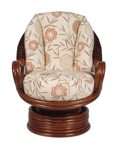 Rattan Chairs | Santiago Rattan Swivel Rocker Chair | Furniture Direct Ltd.  Would Recover The