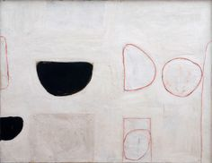 William Scott, Untitled, 1962, Oil on canvas, 86.8 × 111.5 cm / 34¼ × 44 in, Private collection