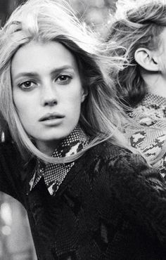 Sigrid Agren by David Sims for Chloe ad campaign