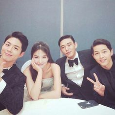 Park Bo gum, Song hye kyo, Yoo Ah in, Song Jong ki