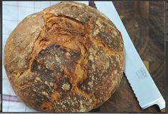 Brot für Faule - Bauernbrot ohne Kneten