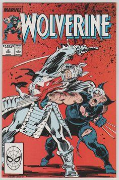 Wolverine Vol 2 2 Comic Book. NM. Dec 1988. by RubbersuitStudios