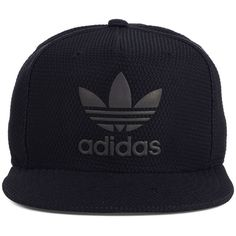 adidas Trefoil Reflective Snapback Cap ( 28) ❤ liked on Polyvore featuring  accessories 652cd11d879b