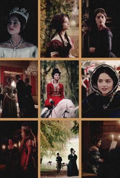 Queen Victoria and costumes.