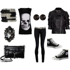 Casual Black, created by mlopez2010.polyvore.com
