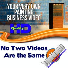 PAINTING BUSINESS VIDEO COMMERCIAL WITH YOUR BRAND AND YOUR INFORMATION #AlienEagle #CustomBusinessVideoCommercial