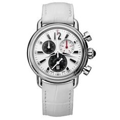 Watches, Leather, Sport, Color, Fashion, Model, White Watches, Stainless Steel Case, Swiss Watch