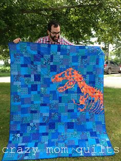 crazy mom quilts: camp stitch a lot~ I know a little boy who would <3<3<3 this!!