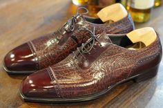 Shoes Above: Crocodile by Riccardo Bestetti Up until I moved to Italy to learn bespoke shoemaking, I never really was a fan of exotics. This was partly due to the fact that in America, certain exot…