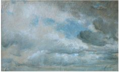 Study of Clouds  Object: Oil painting  Place of origin: Great Britain, UK (painted)  Date: 05/09/1822 (painted)  Artist/Maker: John Constable, born 1776 - died 1837 (artist)  Materials and Techniques: oil on paper