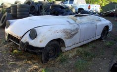 Rare American Sports Car: 1953 Muntz Jet Project - http://barnfinds.com/rare-1953-muntz-jet-project/
