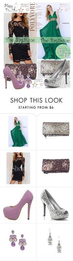 """""""The Bagtigue 6"""" by elmaman ❤ liked on Polyvore featuring Sherri Hill, 1928 and Bagtique"""