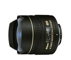Nikon AF DX Fisheye 10.5mm f/2.8G ED (DX Format). Buy @ www.zapazaar.com