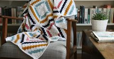 The Cedar River Throw, from the Deramores website by Kat Goldin.