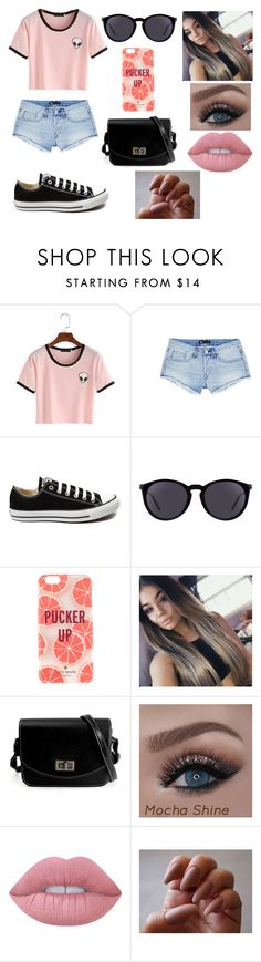 """""""Untitled #178"""" by kora-muffin on Polyvore featuring 3x1, Converse, Yves Saint Laurent, Kate Spade and Lime Crime"""