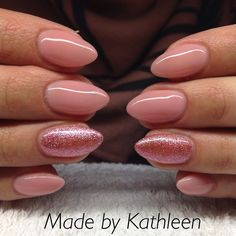 Lovely nude pink nails!! Like my fb page... K's Nails and beauty corner. Thx x