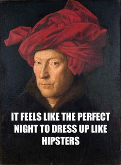 """""""Portrait of a Man"""" by Jan van Eyck  And other paintings with T. Swift lyrics."""