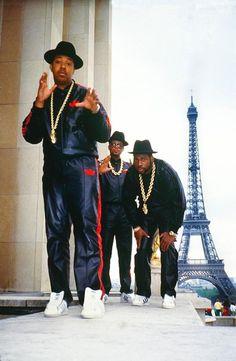 Ricky Powell Run DMC in Paris