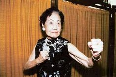 Chin Tsi-ang, considered by some to be the first martial arts star of Chinese cinema, male or female. She started training in martial arts at 8 years old and was raised as a boy because of what a fortune teller told her parents. She lived to be 98 years old. She is also the grandmother of Sammo Hung.