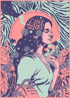 inspiration graphic poster design lana del rey gig LANA DEL REY GIG POSTER graphic design graphic design poster graphic design inspirationYou can find Graphic design posters and more on our website Art And Illustration, Illustrations And Posters, Fashion Illustrations, Graphic Design Illustration, Rock Posters, Band Posters, Wall Art Posters, Poster Wall, Poster On