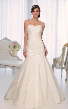 Wedding Dresses | Strapless Wedding Dresses | Essense of Australia #Essense #WeddingDress
