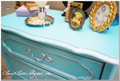 Tiffany Blue dresser