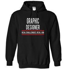 GRAPHIC DESIGNER JOB TITLE T-Shirts, Hoodies. BUY IT NOW ==► https://www.sunfrog.com/LifeStyle/GRAPHIC-DESIGNER--JobTitle-4746-Black-4980599-Hoodie.html?id=41382
