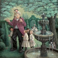 ritva-voutila-the-selfish-giant-page-22-2011-oil-on-canvas-100-x-100cm