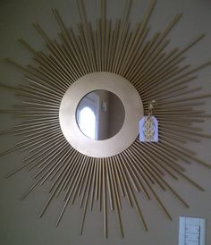 Sunburst mirror from La Tienda Deco Ideas. Latiendadecoideas&gmail.com