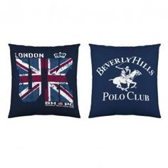 Cojin Missouri BEVERLY HILLS POLO CLUB Missouri, Beverly Hills Polo Club, Textiles, Throw Pillows, Printing, Trends, Toss Pillows, Clothing, Cushions