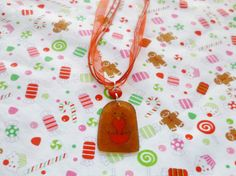 Christmas Robin Necklaces by NiNEFRUiTSPiE on Etsy, £2.50