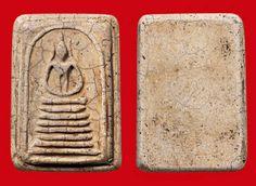พระสมเด็จเกศไชโย พิมพ์ใหญ่ ๗ ชั้น หูประบ่า (ฐานแคบ) กรุวัดไชโยวรวิหาร ของ วิชัย สิงหะ.